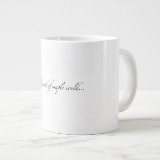 """Der """"Maplewood, wenn Ahorn könnte…"""" Riesige Tasse"""