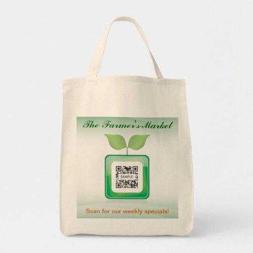 Der Markt des Taschen-Schablonen-Bauern
