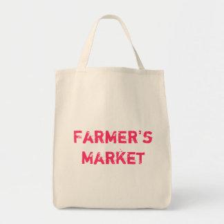 """Der Markt-"""" Lebensmittelgeschäft-Tasche des umwelt"""