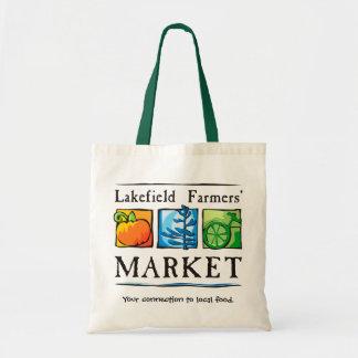 Der Markt-Tasche Lakefield Bauern Budget Stoffbeutel