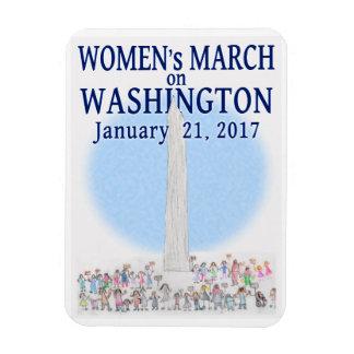 Der März der Frauen auf Washington Magnet