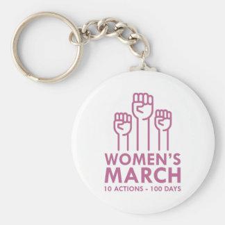 Der März der Frauen Schlüsselanhänger
