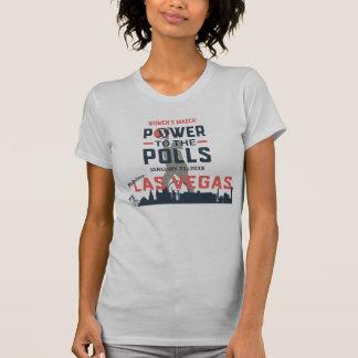 Der März Las Vegas - amerikanisches Kleidert-stück T-Shirt