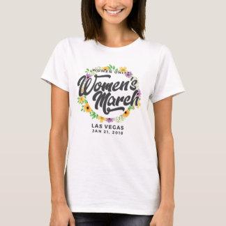 Der März Las- Vegasfrauen T-Shirt