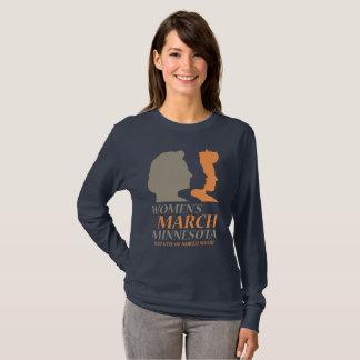 Der März Minnesota, Duluth der Frauen Ausgabe T-Shirt