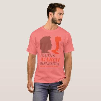 Der März Minnesota, Duluth der Unisexfrauen T-Shirt