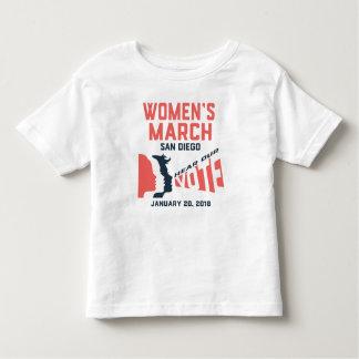 Der März-San Diego der Frauen offizieller Kleinkind T-shirt