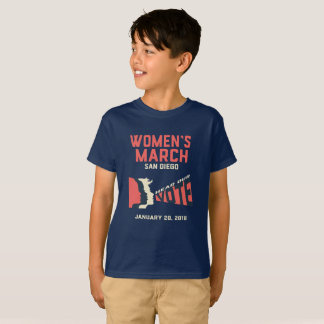Der März-San Diego der Frauen offizieller März T-Shirt