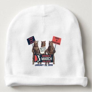 Der März San Diego der Frauen trägt Baby-Kappe Babymütze