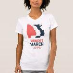 Der März-T - Shirt San Diego Frauen