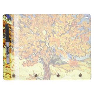 Der Maulbeerbaum, Vincent van Gogh. Trockenlöschtafel Mit Schlüsselanhängern