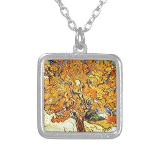 Der Maulbeerbaum, Vincent van Gogh Versilberte Kette