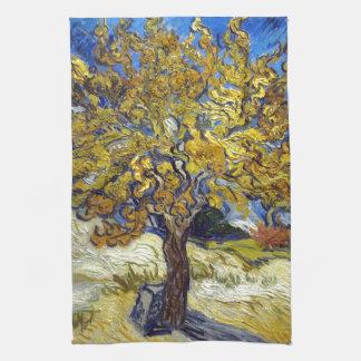 Der Maulbeerbaum, Vincent van Gogh. Vintag Geschirrtuch