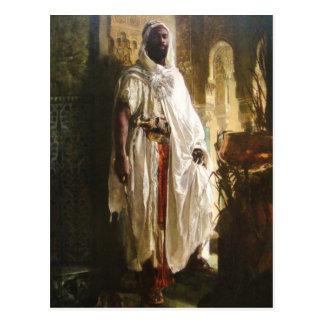 Der maurische Leiter Postkarte