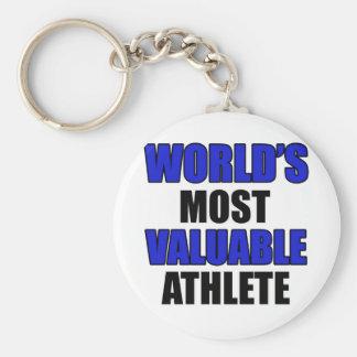 der meiste wertvolle Athlet Schlüsselanhänger