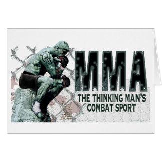 Der MIXED MARTIAL ARTS Denker