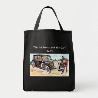 Der Mobster und seine Autovierziger jahre - Tragetasche