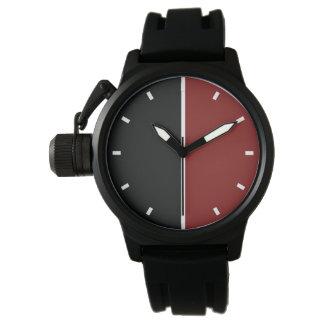 Der moderne geometrische Entwurf der Männer Uhr