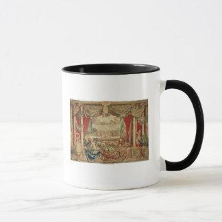 Der Monat Januar das Louvre Tasse