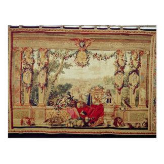 Der Monat von Oktober-Chateau des Tuileries Postkarte