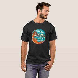 Der Morro der Männer Bucht Vintag-Blick T-Shirt