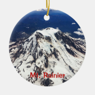 Der Mount Rainier, Washington, Kaskaden Keramik Ornament