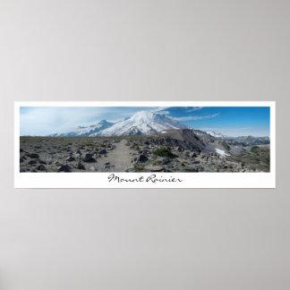 Der Mount- Rainierpanorama Poster