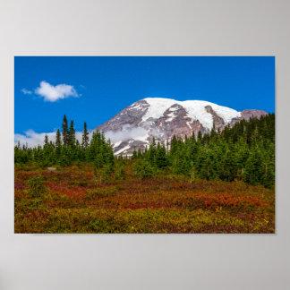 Der Mount- Rainierplakat Poster