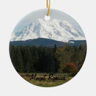 Der Mount- Rundes Keramik Ornament