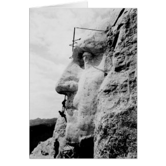 Der Mount Rushmore Bau Karte