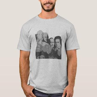 Der Mount Rushmore des Komponist-T - Shirt