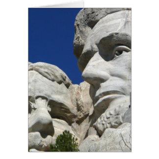Der Mount Rushmore Detail Karte