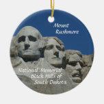 Der Mount Rushmore Erinnerungs-WEIHNACHTSverzierun Ornamente
