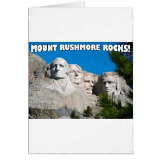 Der Mount Rushmore Felsen! Der Mount Rushmore, Karte