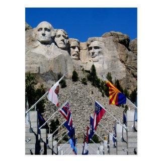 Der Mount Rushmore nationale Erinnerungsandenken Postkarte