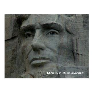 Der Mount Rushmore nationales Denkmal Postkarte
