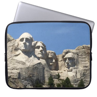 Der Mount Rushmore nationales Präsidentenmonument Laptop Sleeve