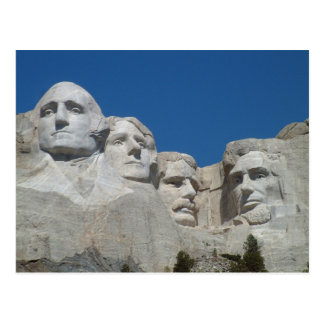 Der Mount Rushmore Poscard Postkarte