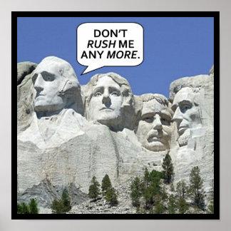 Der Mount Rushmore Poster