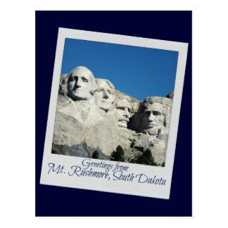 Der Mount Rushmore Postkarte