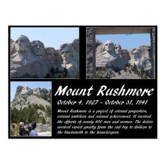 Der Mount Rushmore Reihe #2 Postkarte