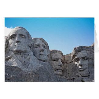 Der Mount Rushmore Sammlung Karte