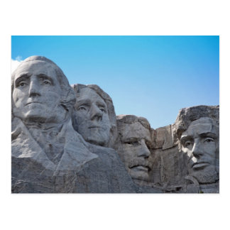 Der Mount Rushmore Sammlung Postkarte