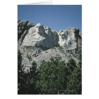 Der Mount Rushmore, South Dakota Karte