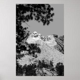 Der Mount Rushmore, South Dakota Poster
