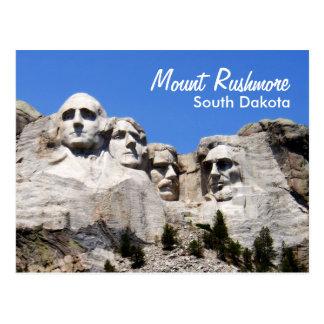 Der Mount Rushmore South Dakota Postkarte