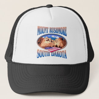 Der Mount Rushmore Truckerkappe