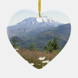 Der Mount Saint Helens Keramik Ornament