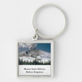 Der Mount Saint Helens - Vor-Eruption Schlüsselanhänger
