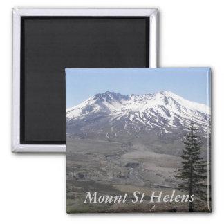 Der Mount- Saint HelensFoto Quadratischer Magnet